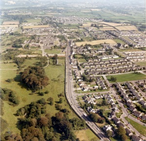 Ballincollig aerial view