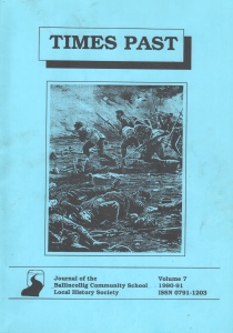 Times Past 1990-91 Front cover