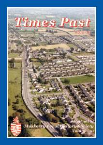 Times Past 2012-2013 Cover