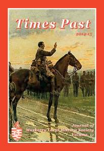 Times Past 2014-15 Cover